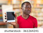 closeup portrait of young... | Shutterstock . vector #361264241