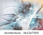 abstract beautiful grey and... | Shutterstock . vector #361267505