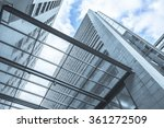 perspective view from below... | Shutterstock . vector #361272509