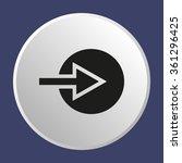 arrow   icon   isolated. flat ...