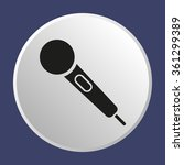 microphone   icon   isolated....