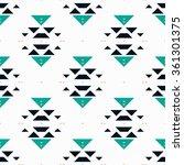 creative mosaic fashion...   Shutterstock .eps vector #361301375