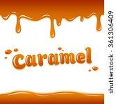 caramel style background ... | Shutterstock .eps vector #361306409