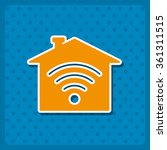 wifi icon  vector illustration. ...