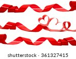valentines day background with... | Shutterstock . vector #361327415
