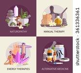 alternative medicine design... | Shutterstock .eps vector #361336361