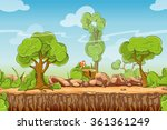 Country Seamless Landscape In...