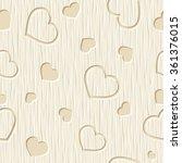 valentine's day vector seamless ... | Shutterstock .eps vector #361376015