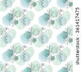 watercolor texture. seamless... | Shutterstock .eps vector #361417475