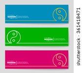 abstract creative concept... | Shutterstock .eps vector #361418471