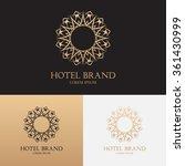 vector template of logo of... | Shutterstock .eps vector #361430999