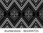 geometric ethnic pattern design ... | Shutterstock .eps vector #361444721