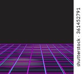 retro style disco design neon... | Shutterstock . vector #361452791