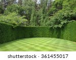 Well Manicured Lawn With A...