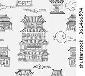 Vector Oriental Seamless...