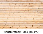 wood pine planks lite brown... | Shutterstock . vector #361488197