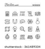 science  experiments ... | Shutterstock .eps vector #361489334