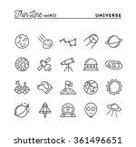 universe  celestial bodies ... | Shutterstock .eps vector #361496651