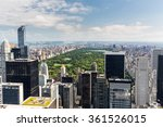 new york   august 23  view to... | Shutterstock . vector #361526015