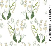 seamless pattern with stylized... | Shutterstock .eps vector #361528349