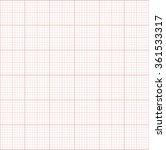 millimeter paper  technical... | Shutterstock .eps vector #361533317