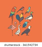 vector illustration icon set of ...   Shutterstock .eps vector #361542734