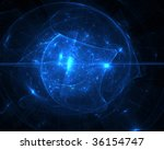 abstract blue background | Shutterstock . vector #36154747