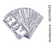Money Veer Vector Drawing