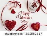 stylish heart love elements on...   Shutterstock . vector #361552817