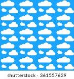 vector illustration of cloud... | Shutterstock .eps vector #361557629
