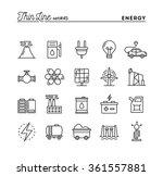 power  energy  electricity... | Shutterstock .eps vector #361557881