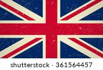 great britain flag with grunge...   Shutterstock .eps vector #361564457