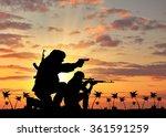 concept of terrorism.... | Shutterstock . vector #361591259