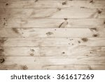 wood brown plank texture... | Shutterstock . vector #361617269