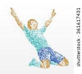 success  finish  winner ... | Shutterstock . vector #361617431