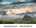 aerial view across the vinales... | Shutterstock . vector #361632041