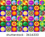 background with ball decoration | Shutterstock . vector #3616333