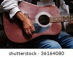 playing guitar   Shutterstock . vector #36164080