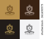 king logo boutique brand real... | Shutterstock .eps vector #361650575