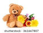 bunch of mix beautiful flowers... | Shutterstock . vector #361667807