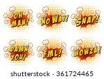 wordings on cloud explosion... | Shutterstock .eps vector #361724465