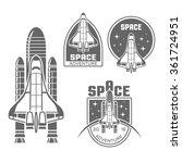 space shuttle design element... | Shutterstock .eps vector #361724951