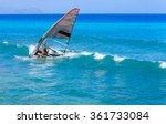 windsurfing | Shutterstock . vector #361733084