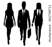 successful business people... | Shutterstock .eps vector #361748711