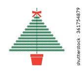 christmas tree illustration ...   Shutterstock .eps vector #361754879