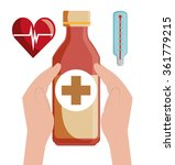 medical healthcare graphic    Shutterstock .eps vector #361779215