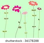 floral background | Shutterstock .eps vector #36178288