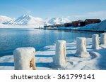 longyearbyen  spitsbergen ...   Shutterstock . vector #361799141