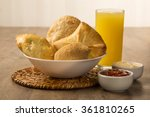 mixed brazilian deep fried... | Shutterstock . vector #361810265