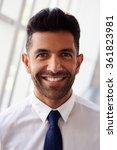portrait of hispanic... | Shutterstock . vector #361823981